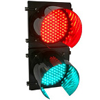 semáforo SEM 1 2 LEDS