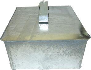 Caja de fundición para el mecanismo B350.