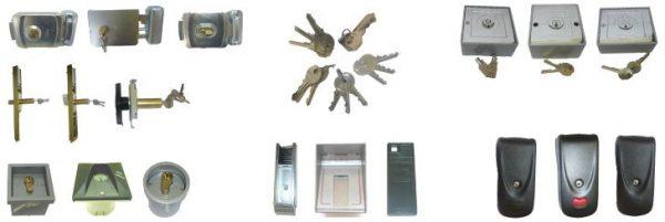 cerraduras eléctricas, magnéticas, hidráulicas y mecánicas