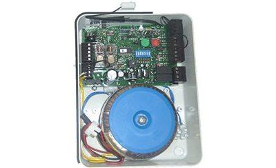 cuadro electrónico de corriente continua CC + R
