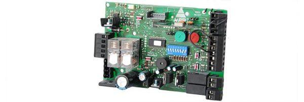 placa cuadro electrónico de corriente continua CC + R
