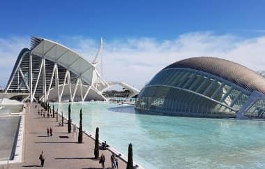 CIUDAD DE LAS ARTES Y LAS CIÉNCIAS (Valencia, España)